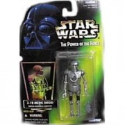 Star Wars Power of the Force Green Card 2-1B Medic Droid with Medical Diagnostic Computer