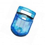 Curva ciglia Pieghevole trasparente da borsetta AZZURRO