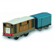 Fisher-Price Thomas the Train - TrackMaster Toby & Cargo Car