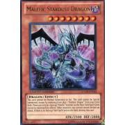 YuGiOh Shonen Jump Promo Ultra Rare Single Card Malefic Stardust Dragon JUMPE...