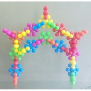 Kiddy Star Links A Creative Colorfull Blocks For Kids (No. of Pieces 12)
