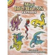 Mini Dragons Tattoos by Christy Shaffer