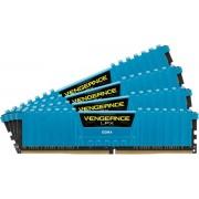 Memorii Corsair Vengeance LPX Blue DDR4, 4x8GB, 2400 MHz, CL 14