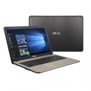 "ASUS X540SA-XX004T N3050 15.6"" HD leskly UMA 4GB 500GB WL DVD/RW Cam Win10 čoko-čierny"