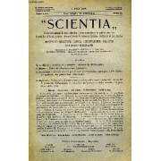 Scientia, Year Xxii, Vol. Xliv, N° Cxcvi-8, Serie Ii, 1928, Rivista Internazionale Di Sintesi Scientifica, Revue Internationale De Synthese Scientifique, International Review Of Scientific ...