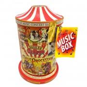 Ceai Basilur music box concert circus C70999