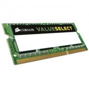 Memorie Corsair Value Select SODIMM 8GB DDR3L 1333MHz CL9 1.35V, CMSO8GX3M1C1333C9