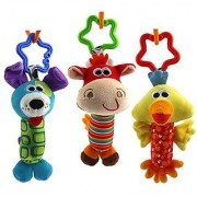 Ebrima Baby Rattles Stroller Educational Toys Set of 3