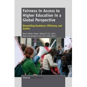 Fairness in Access to Higher Education in a Global Perspective by Heinz-Dieter Meyer