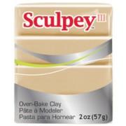 Polyform Sculpey III Polymer Clay, 2-Ounce, Tan