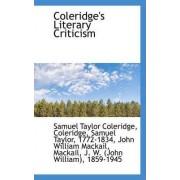 Coleridge's Literary Criticism by Samuel Taylor Coleridge