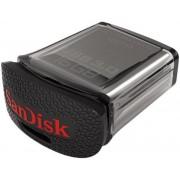 Stick USB SanDisk Ultra Fit, 16GB, USB 3.0, Negru