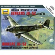Junkers Ju-52 - Avion De Transport Allemand-Zvezda