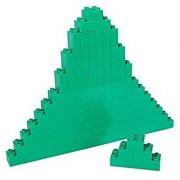 Premium Big Briks Green Basic Builder Set #1 - 84 Pack - (Big LEGO DUPLO Compatible) - Large Pegs