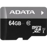 ADATA Micro SDXC 64GB 64GB Micro SDXC UHS Class 10 flashgeheugen
