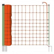50m VOSS.farming Small Animal/ Wildlife Netting, 65cm, 2 Spikes