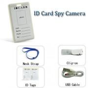 Spy Gadgets Tarjeta de Identidad Cámara Espía Mini Oculto Vídeo Audio videocámara blanco grabador de vigilancia digital de seguridad grabador 8 GB HD Bug. Garantía remboursement 30 días
