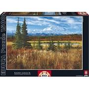 Educa - 16008 - Puzzle Classique - Parc National De Denali, Usa - 1500 Pièces