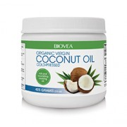 COCONUT OIL (Organic) (15oz) 425g