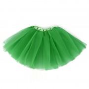 Dolly tutu sukňa pre dievčatká zelená