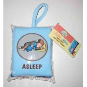 Curious Baby Awake/Asleep Cloth Book (Curious George) by H A Rey