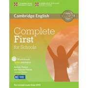 Complete First for Schools. Workbook with answers with Audio CD by Barbara Thomas