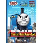 Thomas & Friends: Thomas' Giant Puzzle Book by Rev W Awdry