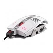 Mouse Gamer Tt eSPORTS Láser Level 10 M, Alámbrico, USB, 8200DPI, Blanco