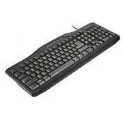 Trust Classicline Multimedia Keyboard Media Keys Spill Resistant