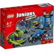Конструктор Лего Джуниърс - Батман Супермен срещу Lex Luthor - Juniors, 10724
