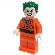 LEGO DC Comics Super Heroes Batman Suicide Squad Minifigure - Joker Orange Prison Suit (10937)