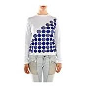 DW8050442131 Bikkembergs Sweatshirts Women Cotton White