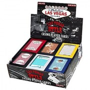 Las Vegas Style Casino Played Cards-Assorted Colors and Styles (1 Pack)