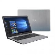 """ASUS X540SA-XX081T N3050 15.6"""" HD leskly UMA 4GB 500GB WL DVD/RW Cam Win10 strieborný"""