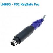 PS2 KeySafe Pro LM893 - устройство записващо данните от клавиатурата