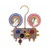Baterie de manometre 4 robinete vizor