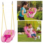 Little Tikes 2-in-1 Snug and Secure Swing Pink