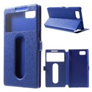 Kék színű két ablakos tok Lenovo Vibe Z2 Pro telefonhoz