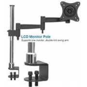 Manhattan LCD Monitor Pole - Supports one