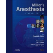 Miller's Anesthesia 2 volume set by Ronald D. Miller