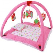 Chhote Janab Baby Play Gym Bedding Set With Mosquito Net