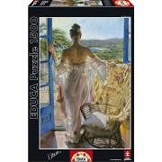 Educa - 16305 - Puzzle Classique - Méditerranée - Vicente Romero - 1500 Pièces
