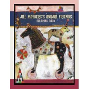 Jill Mayberg's Animal Friends: Coloring Book