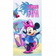 Minnie Mouse summer fun badlaken 70 x 140 cm