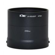 KIWIFOTOS LA-62L820T 62mm Filter Thread Lens Adapter For Nikon Coolpix L820 Digital Camera
