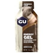 GU Energy Energy Gel Żywność energetyczna Espresso Love 32g beżowy/brązowy Batony i żele energetyczne
