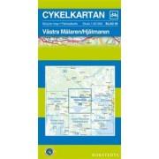 Fietskaart 26 Cykelkartan Västra Mälaren - Hjälmaren | Norstedts