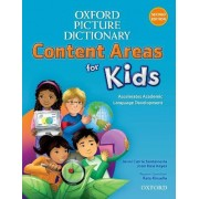Oxford Picture Dictionary Content Areas for Kids: English Dictionary by Jenni Santamaria
