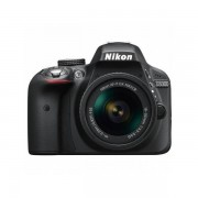 Aparat foto DSLR Nikon D3300 24.7 Mpx Kit AF-P 18-55mm Black