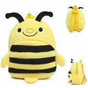 Cute Yellow and Black Honey Bee Baby Bag Stuffed Soft Plush Toy